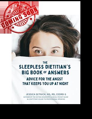 sleepless dietitian book coming sooon
